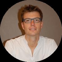 Portrait de Pierre Halut - Ostéopathe et CEO du logiciel Oxteo créé par des ostéopathes pour les ostéopathes